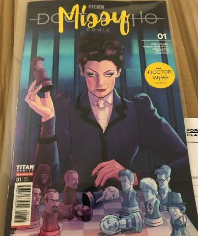 Photo of Doctor Who: Missy #1, cover A (Busian)