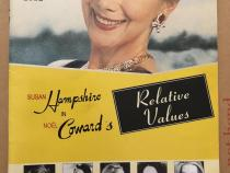 Cover of theatre programme for Relative Values at the Malvern Theatre
